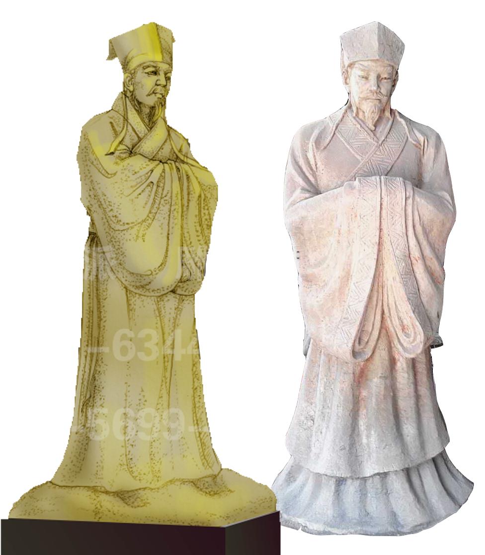 安徽亚博yabo下载 人物雕像 杨时雕像