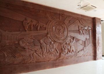 《滁州消防亚博yabo下载主题性浮雕墙》—安徽亚博体育app下载安装苹果版亚博yabo下载
