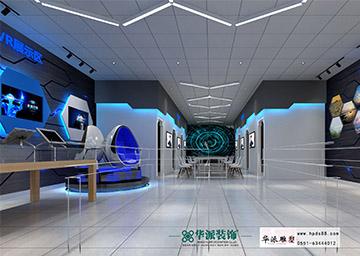 合肥职业技术学院——VR展厅布展。